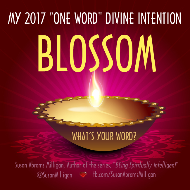 My 2017 One-Word Divine Intention